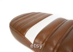 Siège en cuir synthétique caramel pour Super73-S1, S2, R andRX