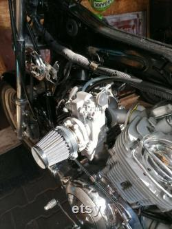 Single Carb Manifold Yamaha Virago XV700-1100 avec HSR42 CARBURETOR