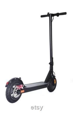 Sonica X1 City 350 watt Electric Folding Scooter roues de 10 pouces en noir