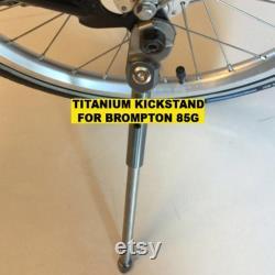 Titanium Kickstand Pour BROMPTON Léger 85g Dahon Birdy Compatible