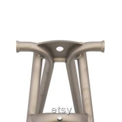 Triangle de cadre arrière en titane pour BROMPTON (Made in Europe) Matte Grey