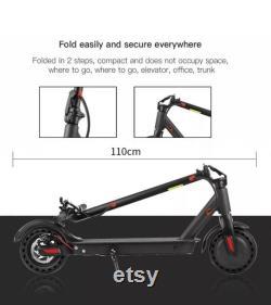 Véritable Aovo pro M365 scooter électrique 31Kmph Gamme 35-40km,10.4ah batterie