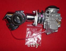 Vulcan VN700-750 collecteur mono-carb STAINLESS 45 mm and CV40 carb