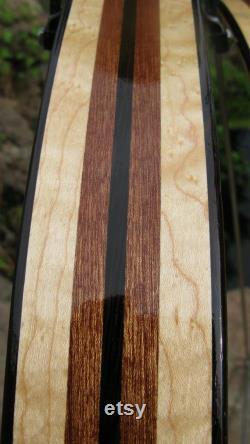 Wood Bicycle Fenders- Woody s handmade. Gardes de boue, garde d éclaboussure, vélo, recycler, vélo, vélo ajouter dessus, vélo de banlieue