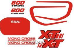 YAMAHA XT600 2kf autocollants autocollants aufkleber autocollant pegatinas XT 600