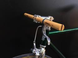 cendre et wenge bois droit guidon de bicyclette