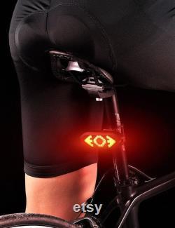 feux arrière vélo 32 led avec clignotant sonore télécommande Bluetooth