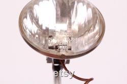 lumière avant de tête de moped vintage pour le vélo avec la lampe de projecteur d ampoule faite en Allemagne