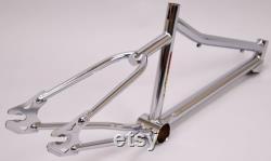 vintage HARO Group 1 BMX 20 Cadre vélo Old School Bon Chrome