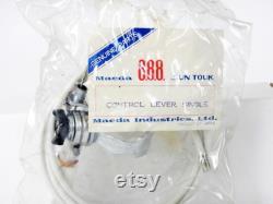 vintage des années 1970 NOS 888 Suntour 5 ou 6 Speed Down Tube Friction Shift Lever avec câble et logement dans le paquet scellé